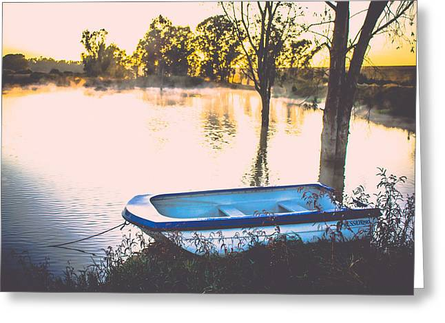 Photo Art Gallery Greeting Cards - Drifing Greeting Card by George Fivaz