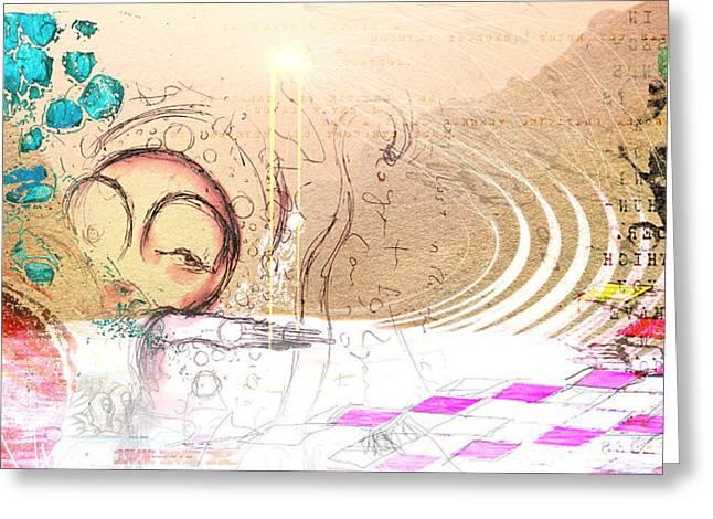 Drift Ashore Greeting Card by Mark M  Mellon