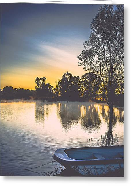 Photo Art Gallery Greeting Cards - Drift Greeting Card by George Fivaz