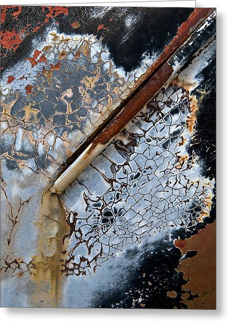 Drip Greeting Cards - Drip Channel Greeting Card by Murray Bloom