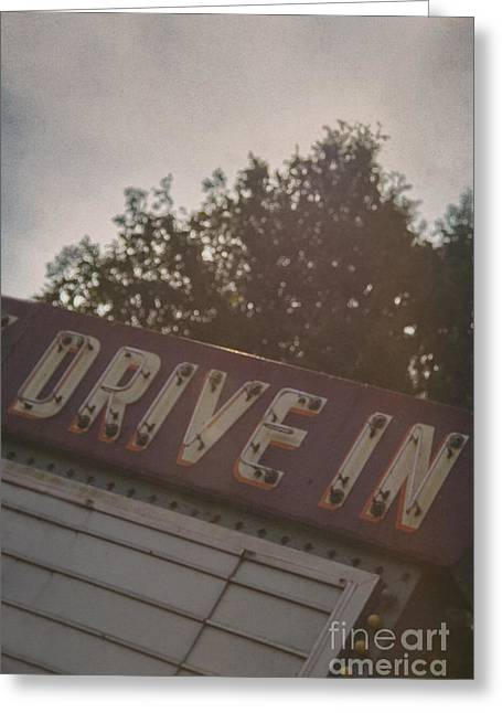 Drive In II Greeting Card by Margie Hurwich