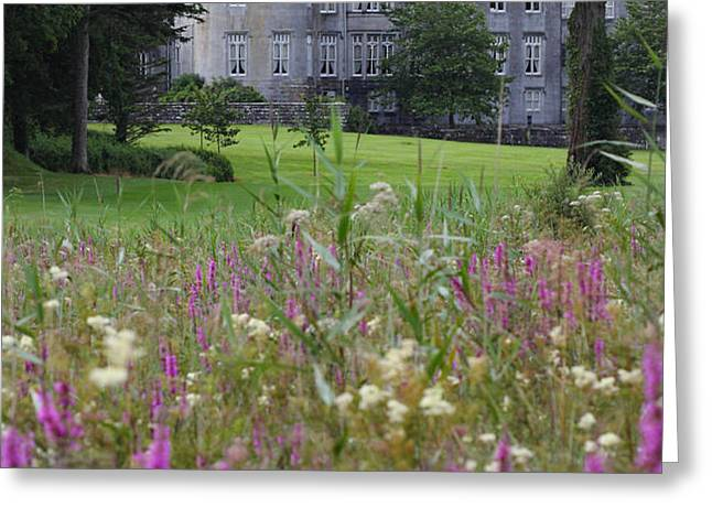 Dromoland Castle  ireland Greeting Card by Pierre Leclerc Photography