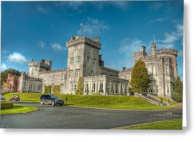 Dromoland Castle Greeting Card by Noah Katz