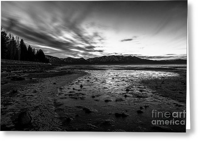 Rocks Greeting Cards - Drying Lake Bed Greeting Card by Jon Olmstead