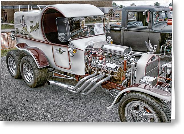 Dual Axl White Olds Greeting Card by Thomas  Jarvais