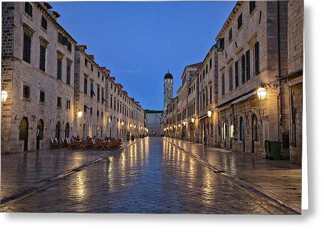 Dubrovnik Greeting Card by Contemporary Art