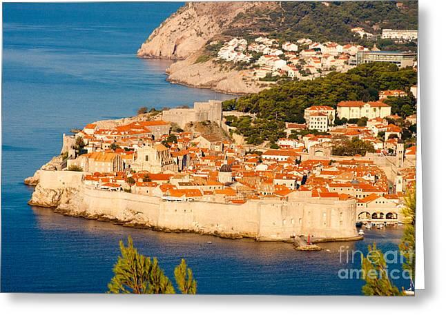 Thomas Marchessault Greeting Cards - Dubrovnik Old City Greeting Card by Thomas Marchessault