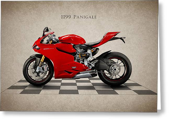 Motorcycles Greeting Cards - Ducati Panigale Greeting Card by Mark Rogan