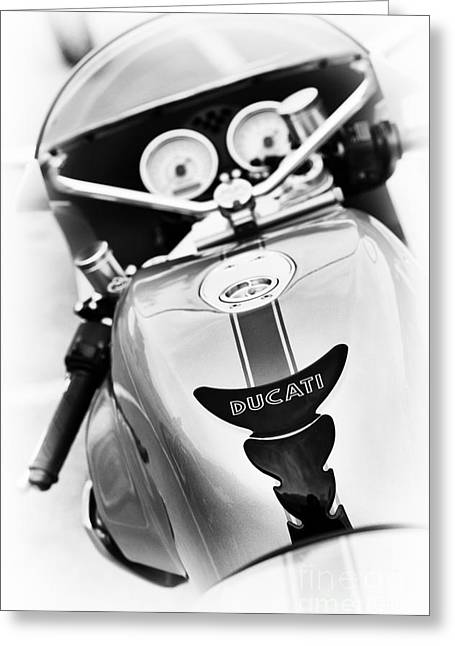 Ducati Ps1000le Abstract Greeting Card by Tim Gainey