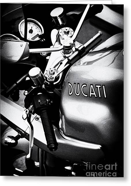 Ducati Ps1000le Motorcycle  Greeting Card by Tim Gainey