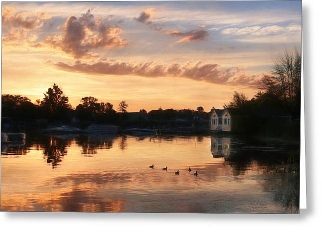 Clayton Greeting Cards - Duck Calls Greeting Card by Lori Deiter