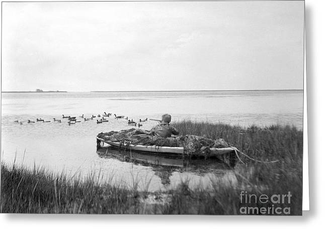 Duck Hunting, C.1920s Greeting Card by H. Armstrong Roberts/ClassicStock