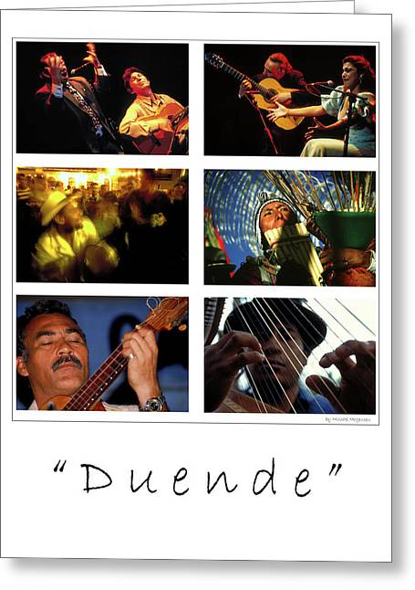 Duende Greeting Cards - Duende - Feeling Greeting Card by Michael Mogensen