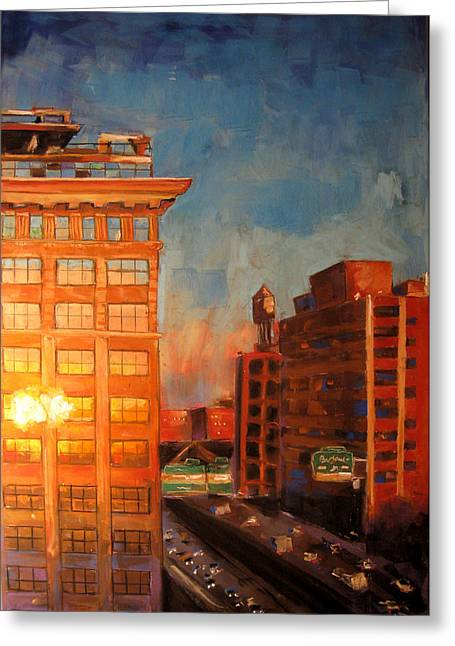 Manhattan Pastels Greeting Cards - Dumbo1 Greeting Card by Thomas Daseler
