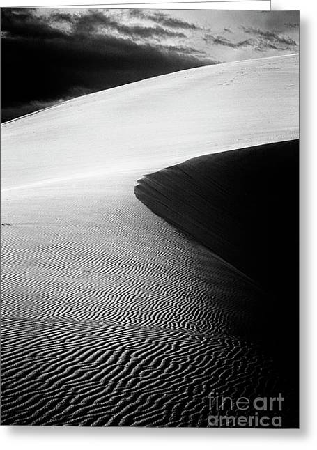 Coral Pink Sand Dunes Greeting Cards - Dune V Greeting Card by Hideaki Sakurai