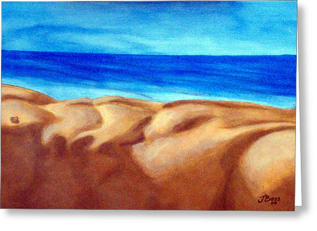 Male Sculptures Greeting Cards - Dunes Greeting Card by Jeff Boss