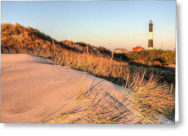 Robert Moses Greeting Cards - Dunes of Fire Island Greeting Card by JC Findley