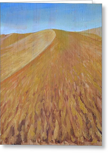 Dunes Greeting Card by Tom Dauria