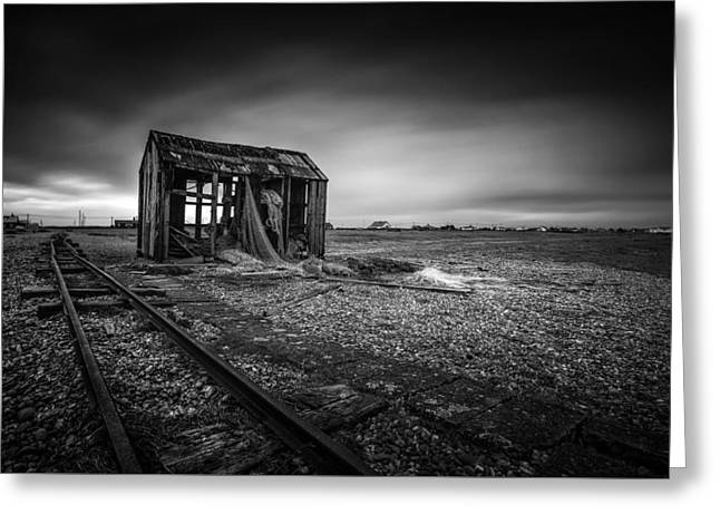 Dungeness Beach  Greeting Card by Ian Hufton
