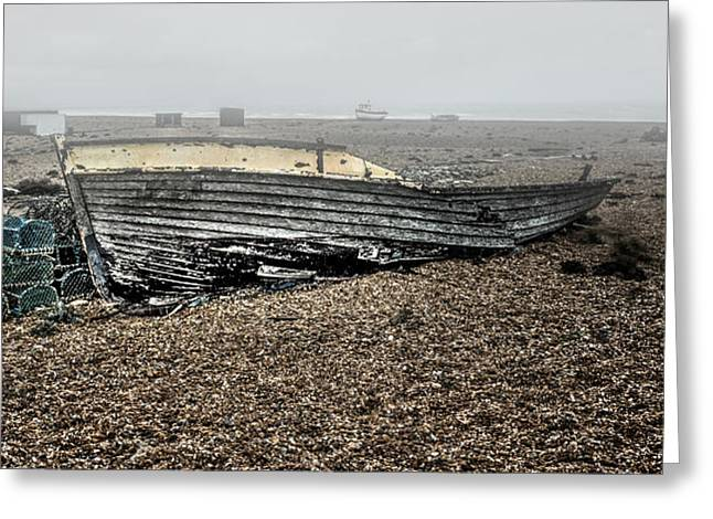 Lobster Post Greeting Cards - Dungeness Decay Greeting Card by Huet Bartels