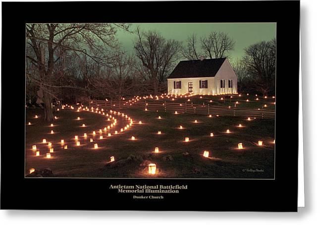 Dunker Church 07 Greeting Card by Judi Quelland