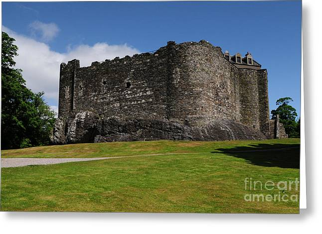 Dunstaffnage Castle Greeting Card by Stephen Smith