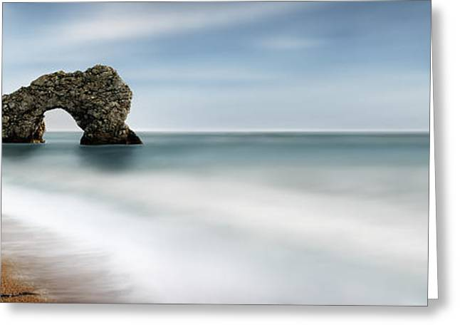 Jurassic Greeting Cards - Durdle Door Greeting Card by Rod McLean
