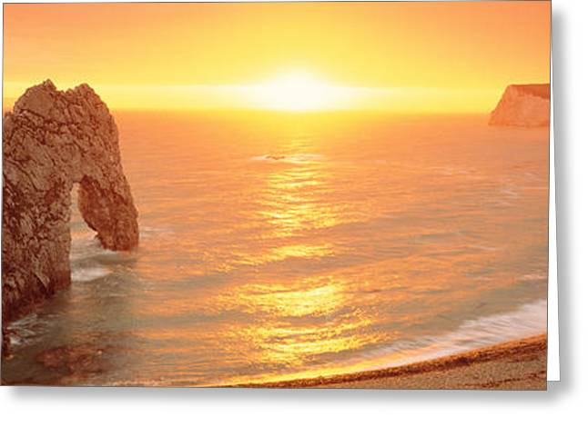 Durdle Door Dorset England Greeting Card by Panoramic Images