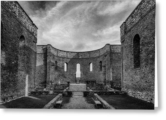 Religion Greeting Cards - Dusk at the Ruins Greeting Card by Tim Kennedy