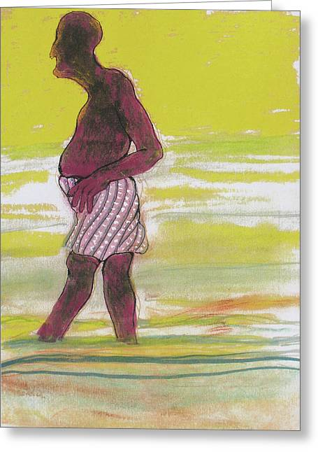 Dusk Pastels Greeting Cards - Dusk Greeting Card by Walter Clark