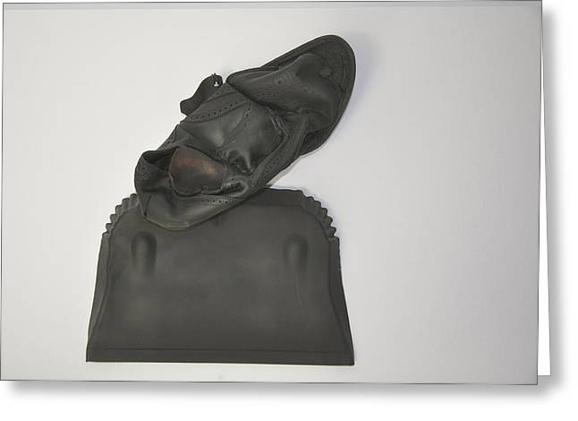 Despair Sculptures Greeting Cards - Dust To Dust Greeting Card by Michael Jude Russo