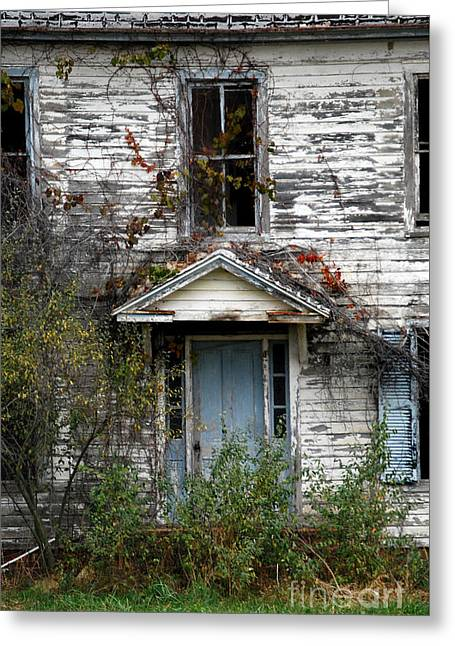 Mountain Road Greeting Cards - Ghosts In The Attic Greeting Card by Skip Willits