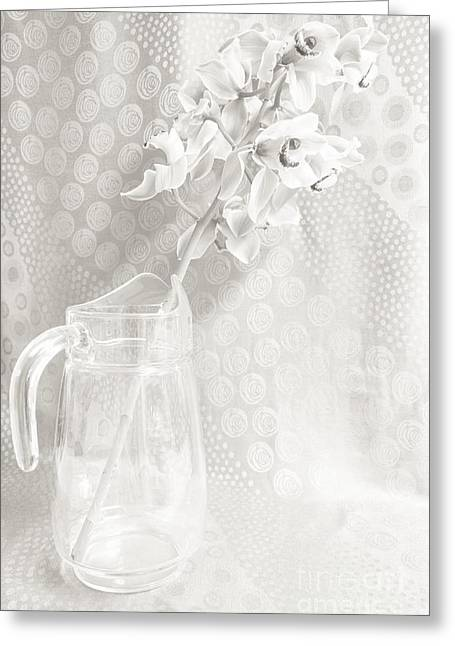 Lovely Art Greeting Cards - Dusty Pitcher Greeting Card by Lisa Killins