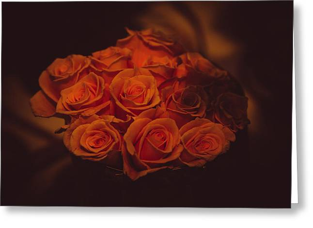Artistic License Greeting Cards - Dutch Yellow Roses Greeting Card by Jenny Rainbow
