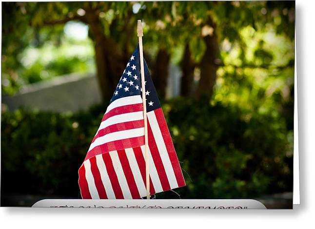 Serviceman Greeting Cards - Duty to Remember Greeting Card by Scott  Wyatt