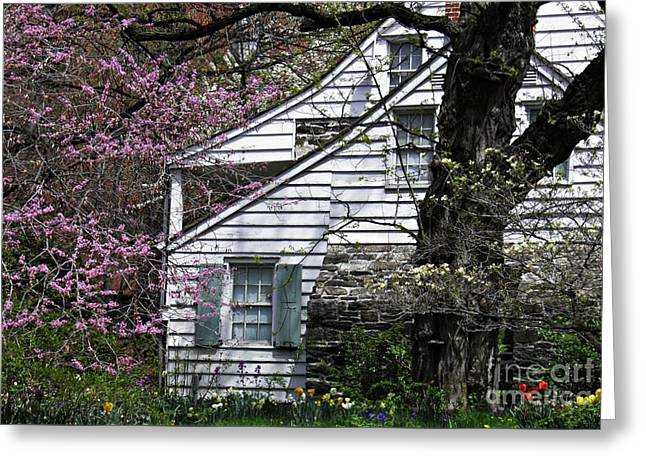 Medical Greeting Cards - Dyckman House 1 Greeting Card by Sarah Loft