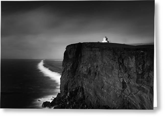 Best Ocean Photography Greeting Cards - Dyrholaey 6 Greeting Card by Gunnar Orn Arnason