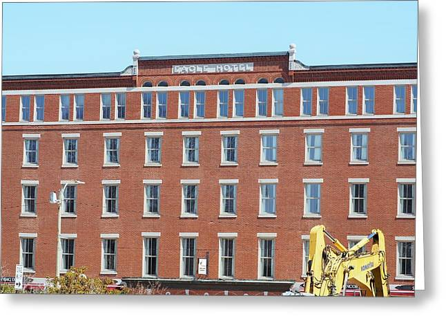 Concord Greeting Cards - Eagle Hotel Greeting Card by Mark Ball