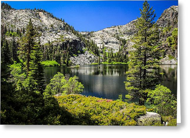 Randy Greeting Cards - Eagle Lake Greeting Card by Randy Wehner Photography