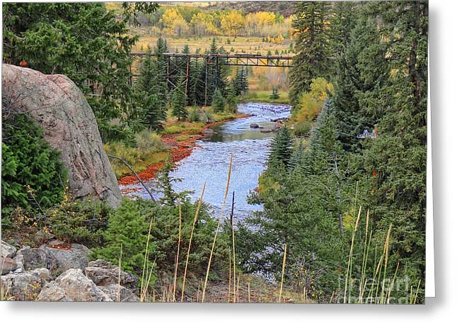 Tn Greeting Cards - Eagle River Colorado Greeting Card by TN Fairey