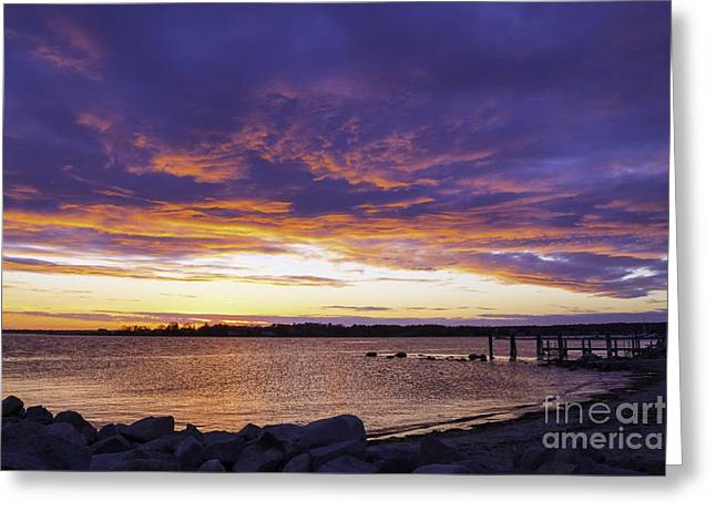 Renewing Greeting Cards - Early May Sunset Greeting Card by Joe Geraci