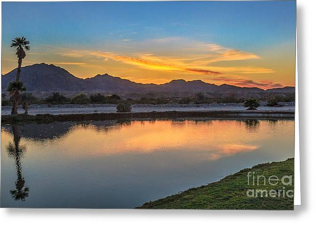 Bale Greeting Cards - Early Morning Color Greeting Card by Robert Bales