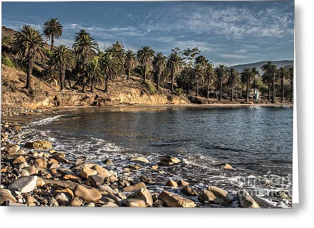 Ventura California Greeting Cards - Early Morning Refugio State Beach Greeting Card by Danny Goen
