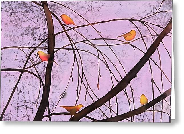 Early Spring 2 Greeting Card by Carolyn Doe