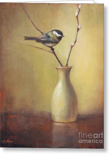 Early Spring Still Life Greeting Card by Lori McNee