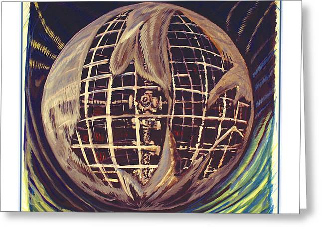 Extinction Of Species Greeting Cards - Earth Bone Greeting Card by Michael Lanier