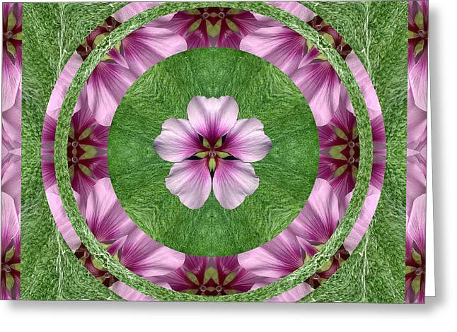 Earth Circle 2 Greeting Card by Bell And Todd