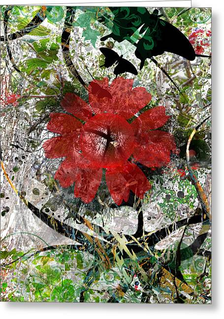 Lanscape Digital Greeting Cards - Earth Greeting Card by Danielle Kasony