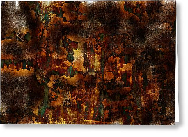 Earth Tones Greeting Card by Frank Tschakert