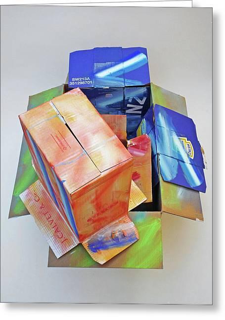 Earthquake 2 Greeting Card by Charles Stuart